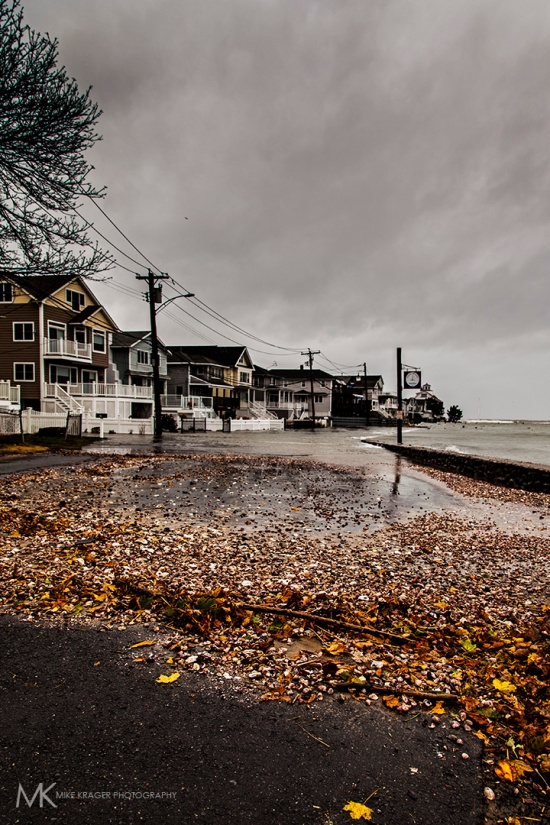 Point-Beach, Milford, CT. Before Hurricane Sandy.