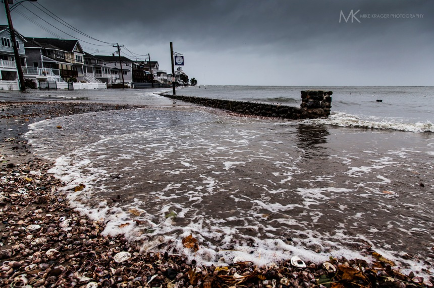 Point-Beach, Milford, CT. Before Hurricane Sandy.